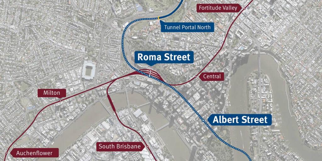 Cross River Rail Alignment