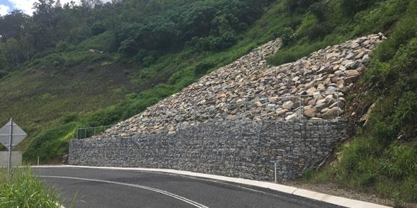 Sarina Range Reconstruction Works