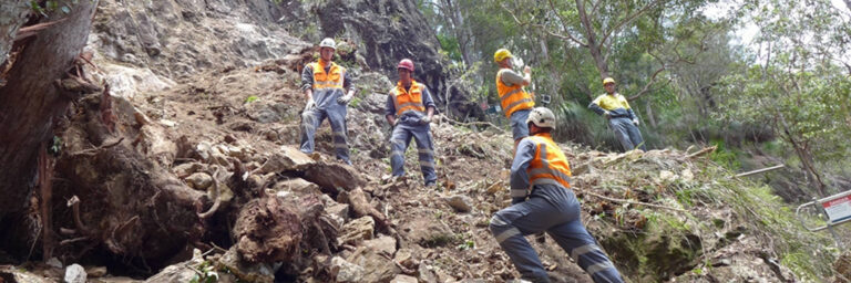 Kondalilla Rockfall Hazard Reduction